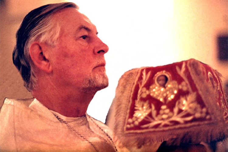 Священник Александр Шмеман