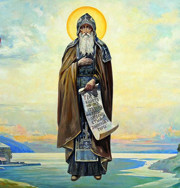 Святой преподобный Антоний