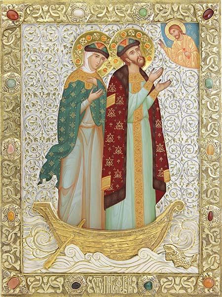 Святые благоверные Пётр и Феврония Муромские