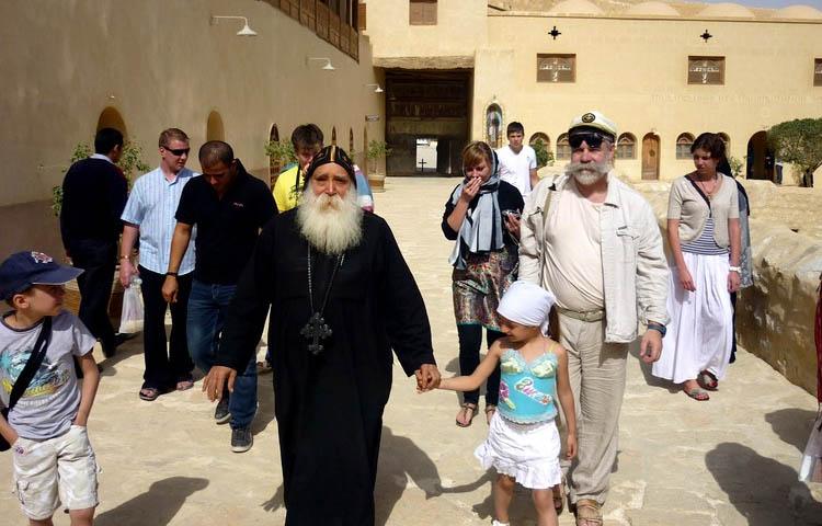 В Монастыре Св. Антония