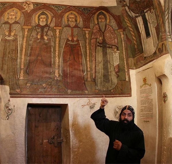 В Монастыре Святого Антония