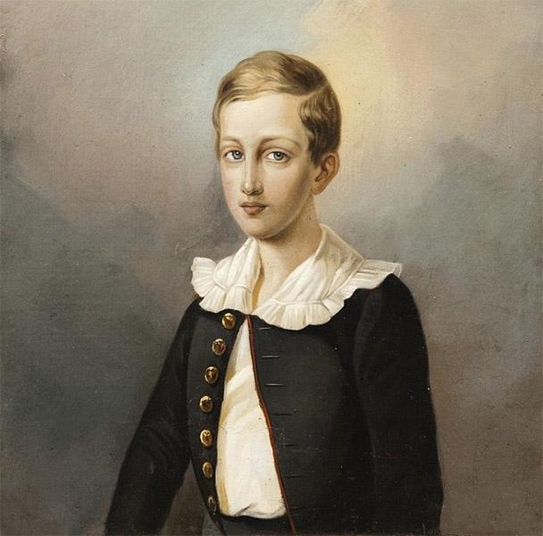 Великий князь Николай Николаевич в детстве