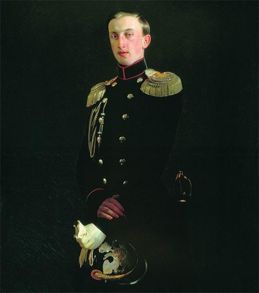 Великий князь Николай Николаевич в военном мундире