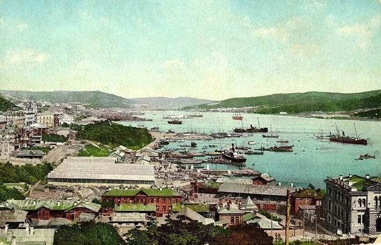 Вид на Владивосток начало XX века