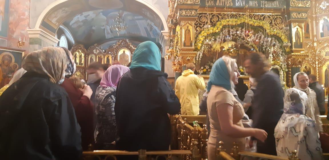 В Дивеево на праздник прп. Серафима Саровского!