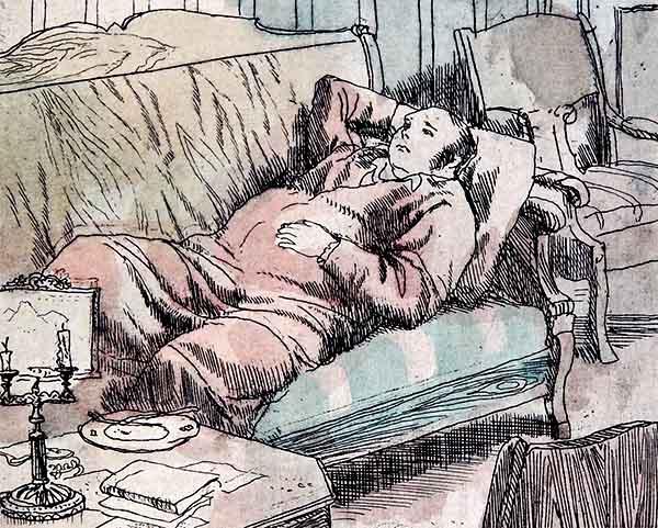 Человек в постели
