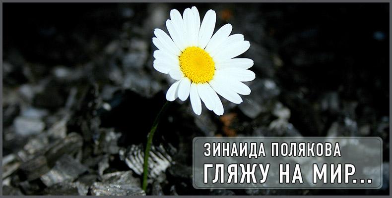 Гляжу на мир... Зинаида Полякова