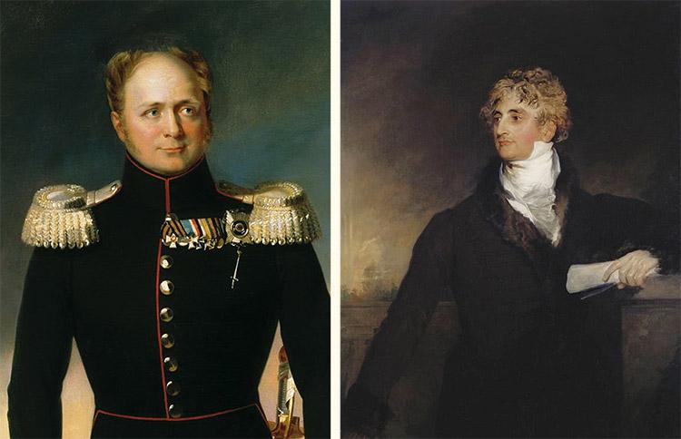 Государь Александр I и Герцог де Ришелье