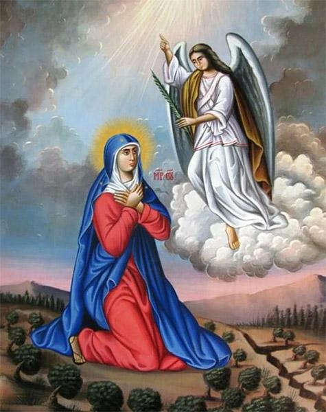 Молитва Богородицы на горе Елеонской