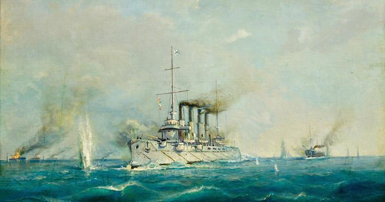 Морское сражение в Первую Мировую