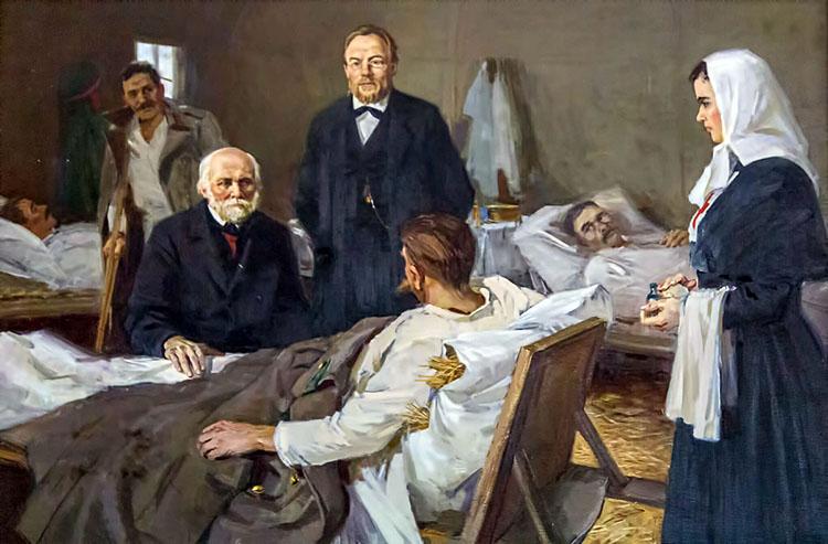 Николай Пирогов в госпитале