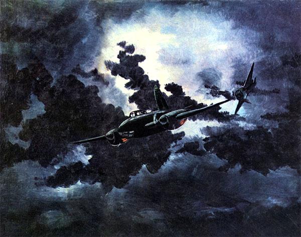 Ночной таран Талалихина