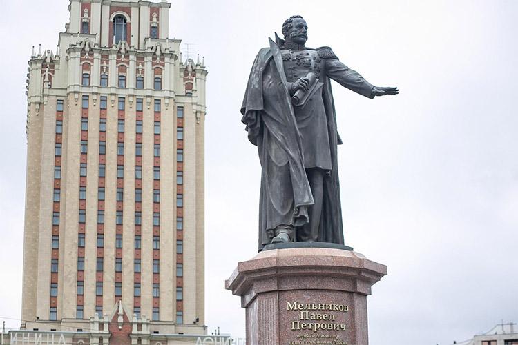 Памятник Павлу Мельникову