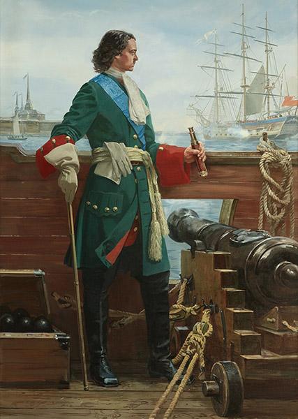 Петр на флоте