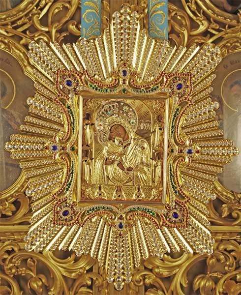 Почаевская Чудотворная икона Божией Матери