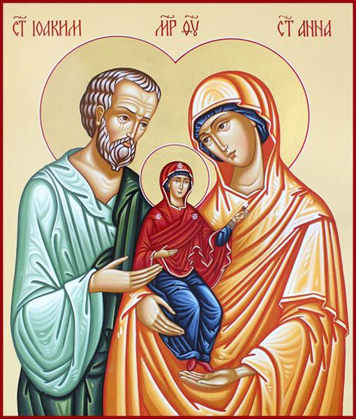 Праведные Богоотцы Иоаким и Анна