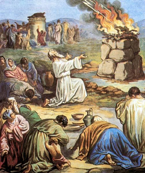 Пророк Илия на горе Кармил