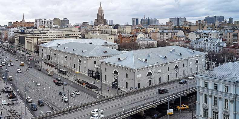 Провиантские склады в Москве