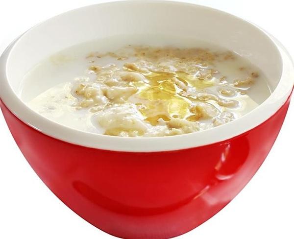 Суп перловый молочный с медом