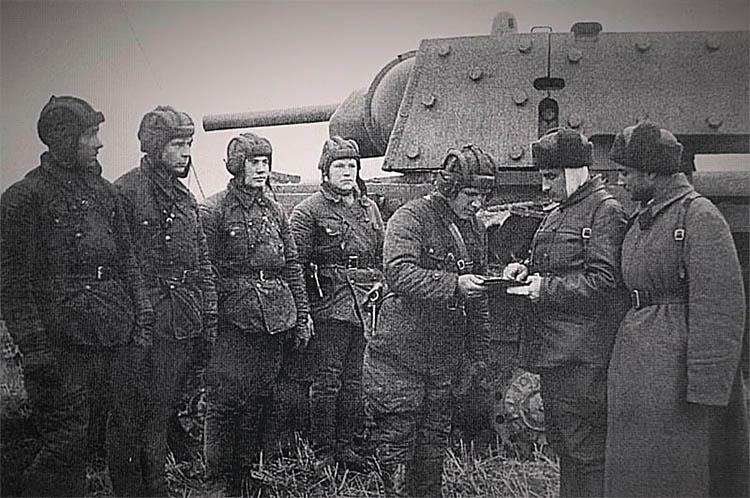 Танковый отряд Зиновия Колобанова