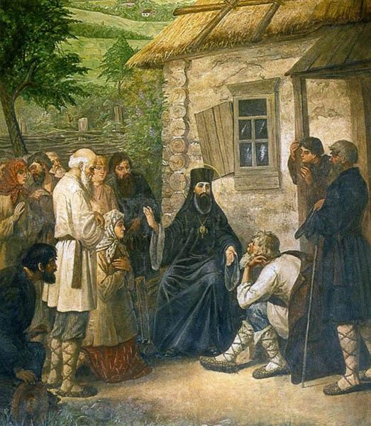 Тихон Задонский и паломники