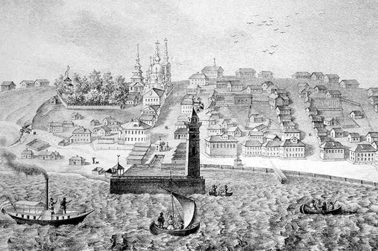 Вид города Петрозаводска