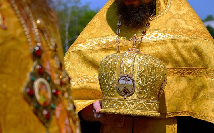 Золотое облачение священника