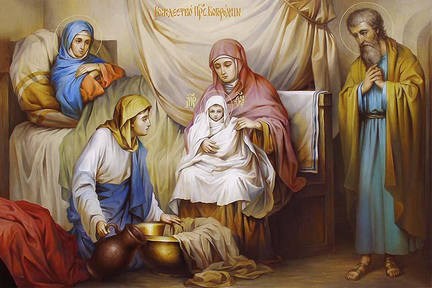 Рождество Пресвятой Богородицы. Икона