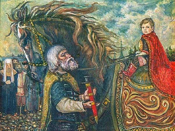 Александр Невский в детстве