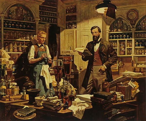 Аптека XIX век