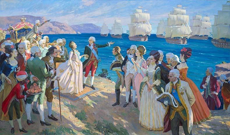 Черноморский флот при Екатерине Великой