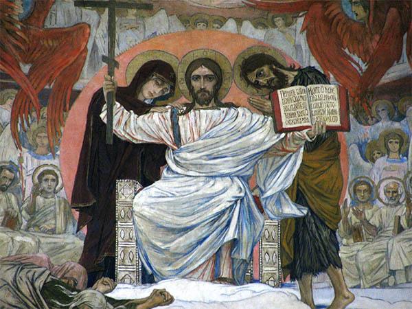 Христос на Страшном Суде