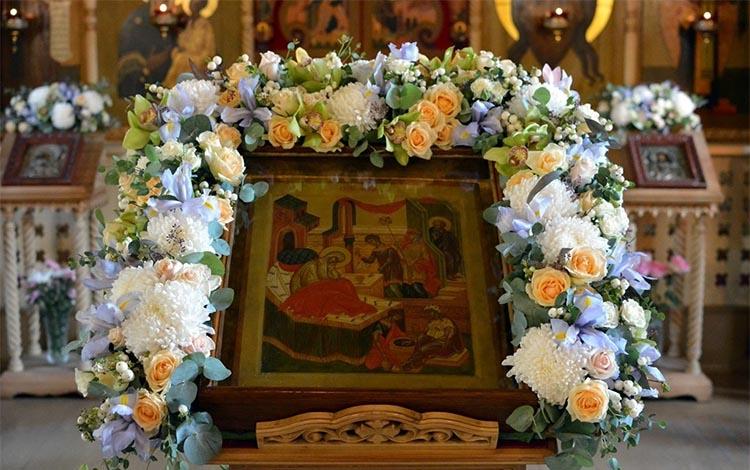Икона Рождества Пресвятой Богородицы в храме
