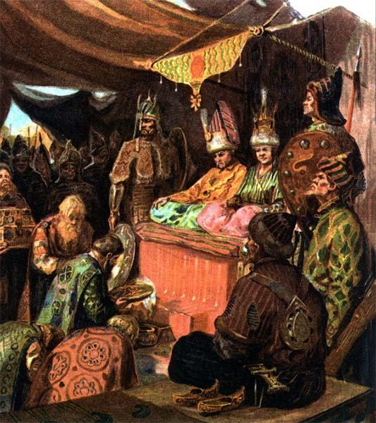 Князь у Батыя