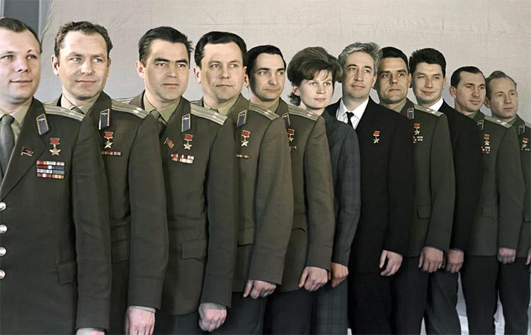 Отряд космонавтов