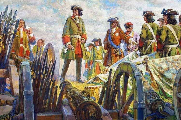 Петр I во время Северной войны