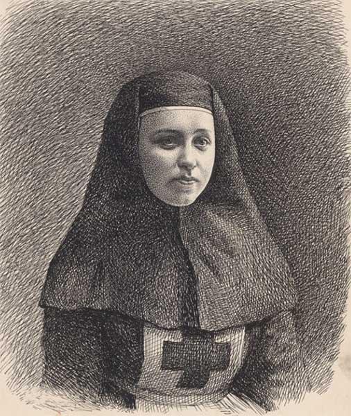 Сестра милосердия Римма Иванова