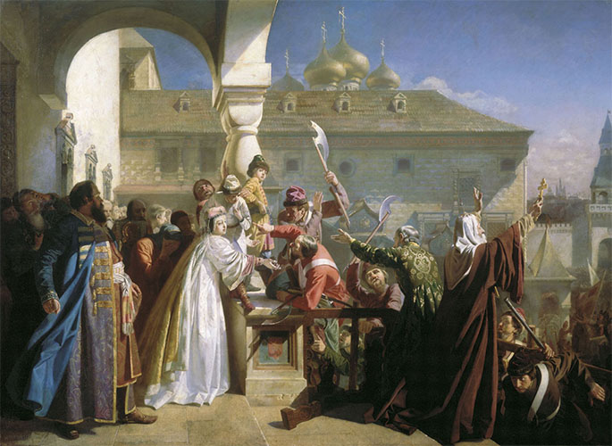 Стрелецкий бунт 1682 года