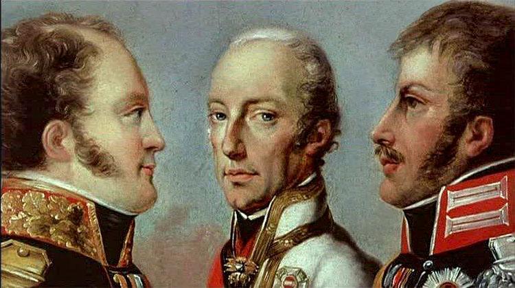 Священный союз 1815 года