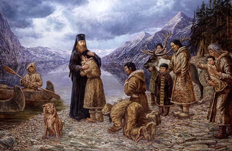 Святитель Иннокентий и алеуты