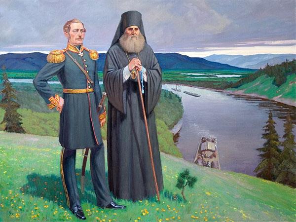 Святитель Иннокентий и Николай Муравьев-Амурский