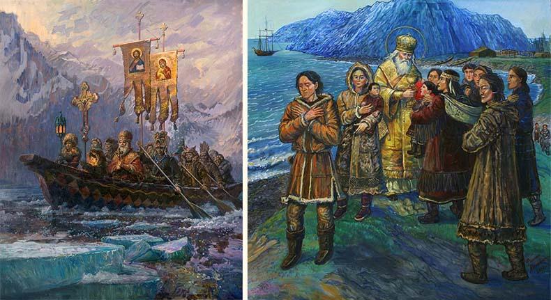 Святитель Иннокентий на Аляске