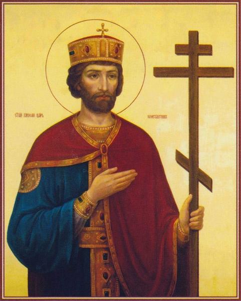 Святой равноапостольный царь Константин