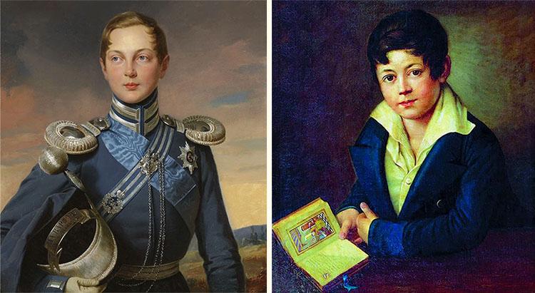 Цесаревич Александр и Алексей Толстой