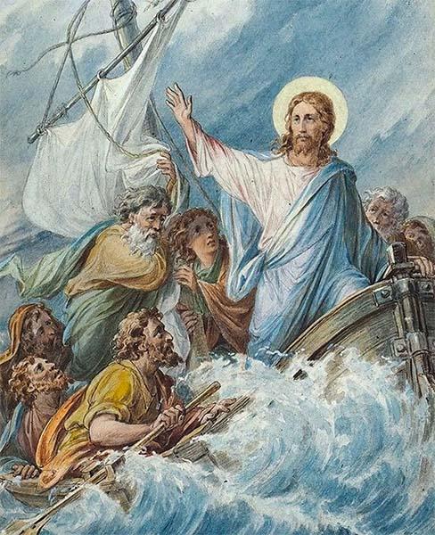 Укрощение Господом Иисусом Христом бури на море