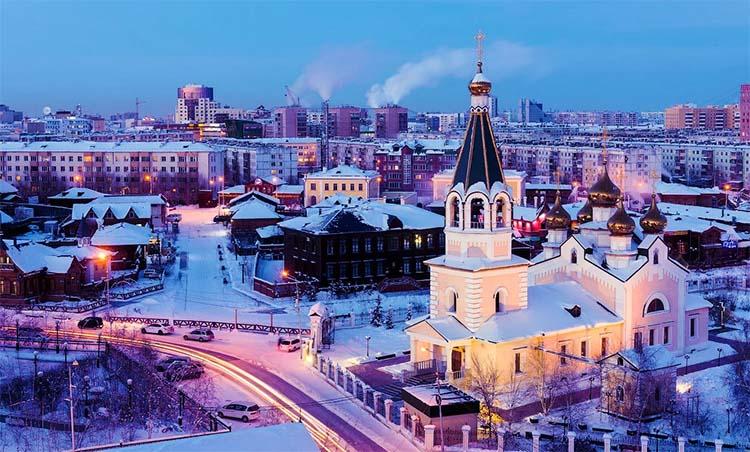 Якутск в наши дни