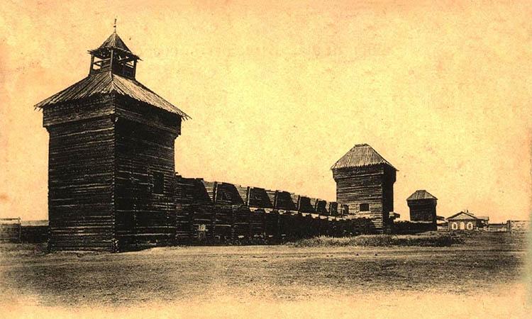 Якутские деревянные башни