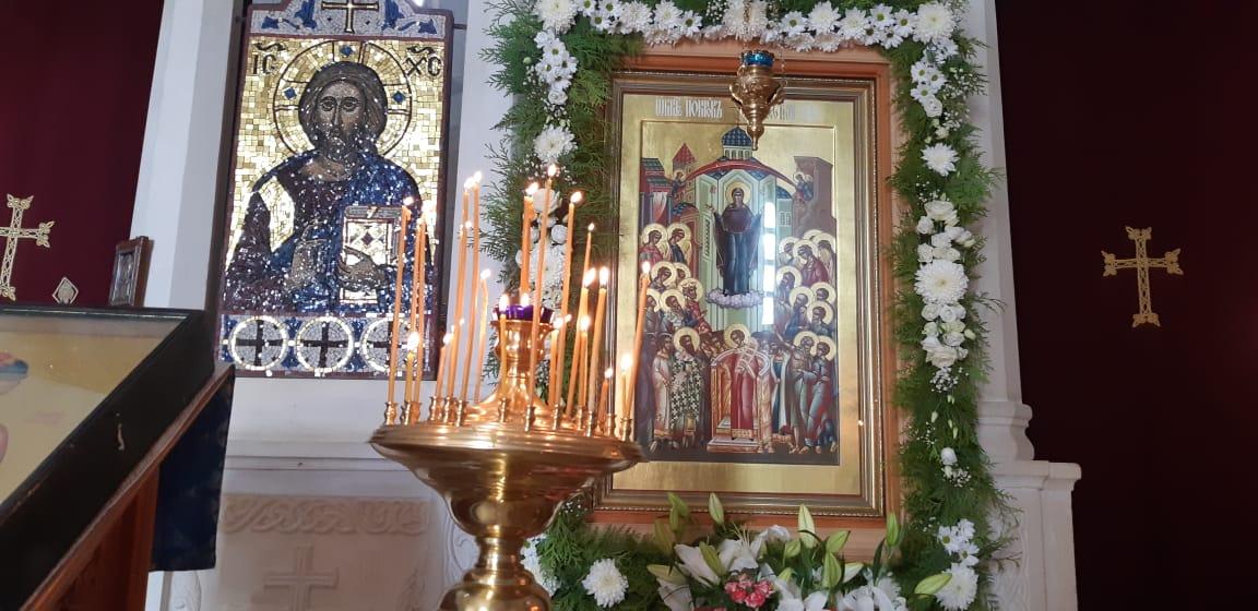 Храмовая икона Покрова Пресвятой Богородицы