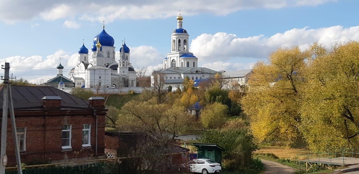 Боголюбский монастырь в Боголюбово