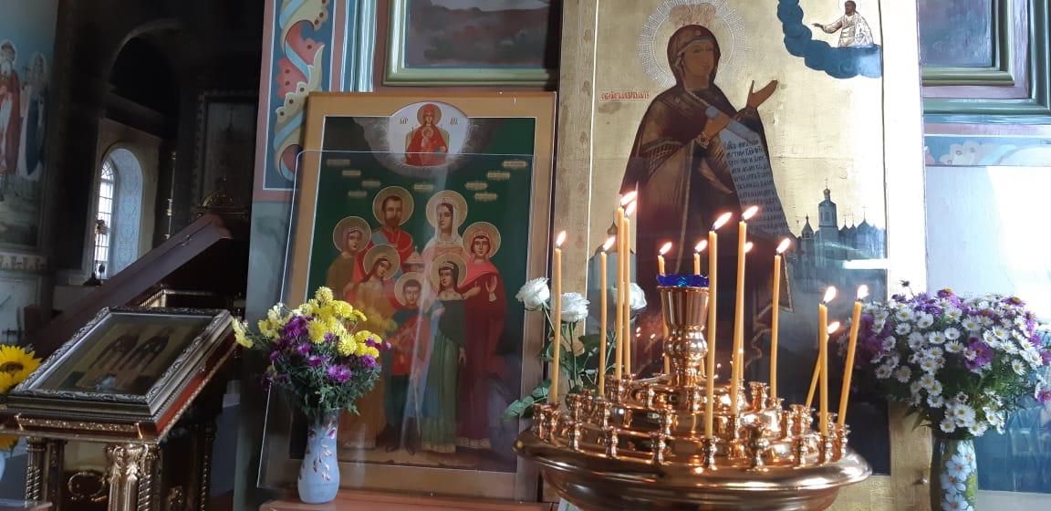 Чтимая Боголюбская икона Божией Матери